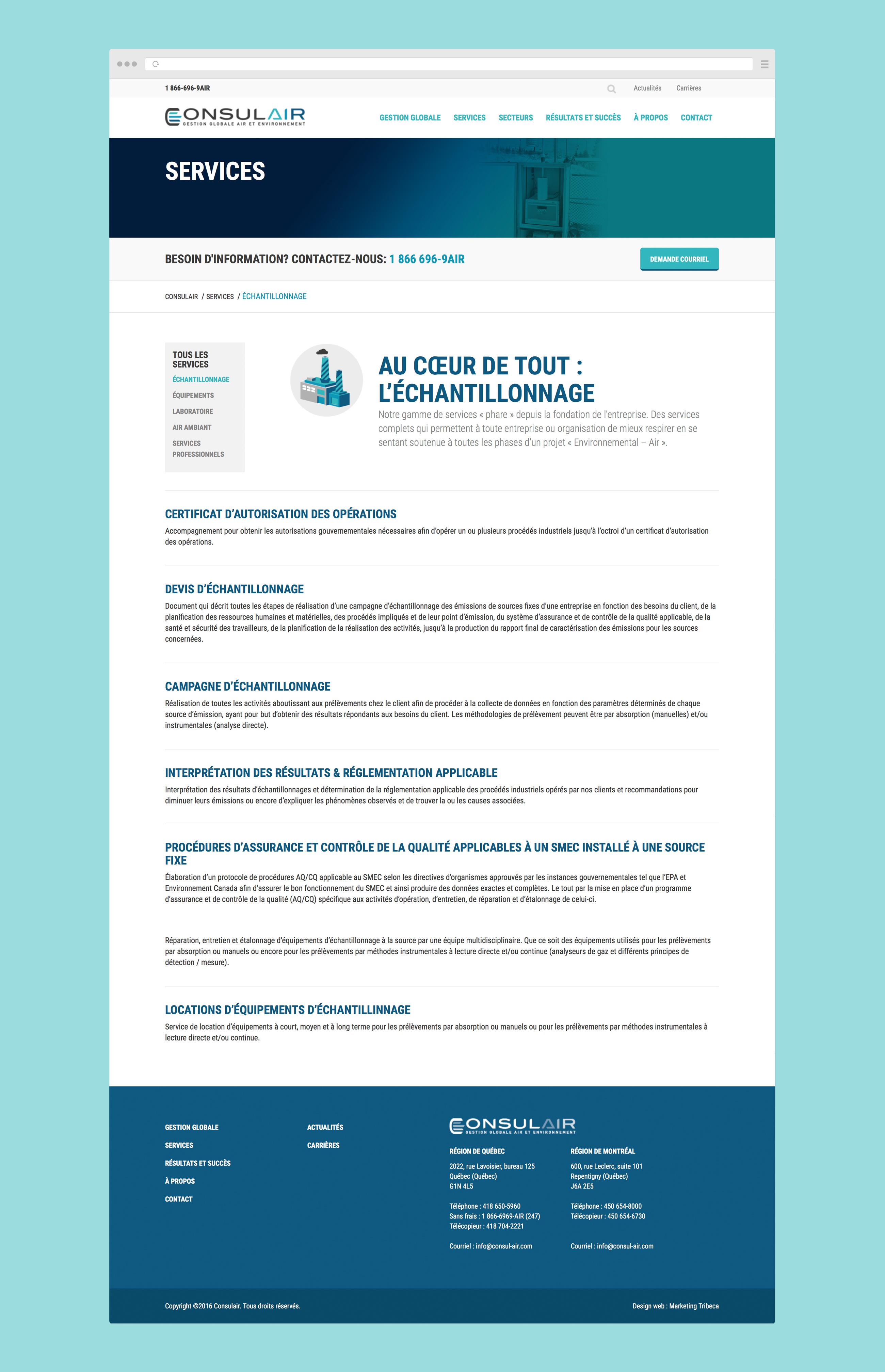 Consulair - site web