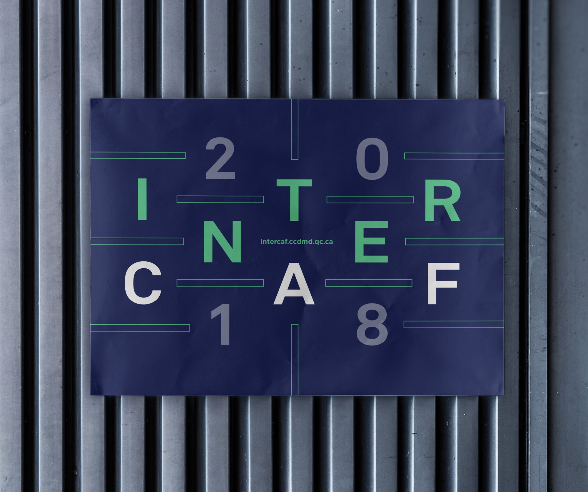 intercaf - affiche